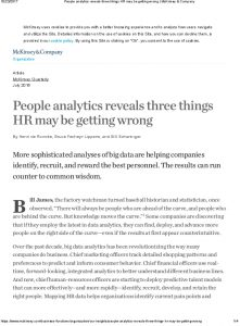 Icon of People Analytics Reveals Three Things HR May Be Getting Wrong