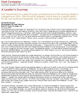 Icon of A Leader's Journey