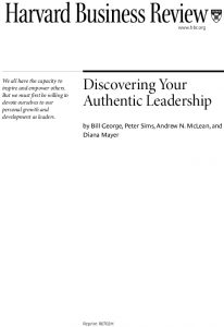 Icon of Discovering Your Authentic-Leadership