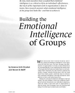 Icon of Building The Emotional Intelligence Of Groups